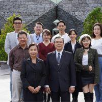 快新聞/《國際橋牌社2》開鏡 楊烈憶李前總統:這次拍攝使命感更加濃烈