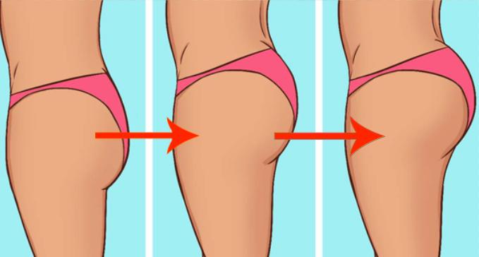 在家5個簡單步驟,立刻消除贅肉,擁有迷人翹臀!趕快學起來!!