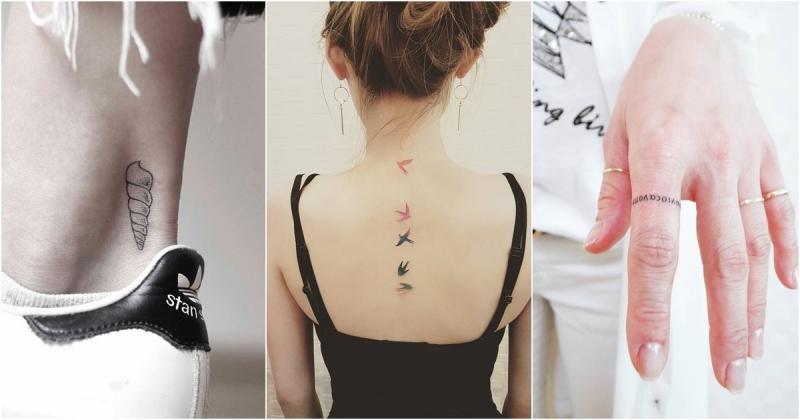 極簡「小刺青」正夯!15位靚眉示範,點樣樣讓刺青變成妳最靚ge裝飾品,香港交友討論區