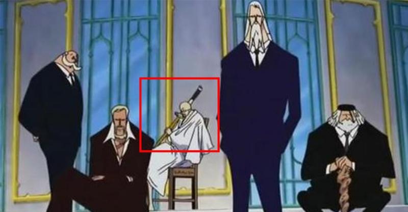 五老星手上的這把刀透露出「這個身份」!《海賊王》 最高權力五老星的真實身份竟然是…