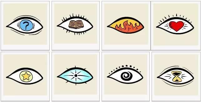 原來你的快樂只是種偽裝...8隻眼睛選一隻,瞬間看透你內心!