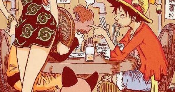 魯夫、娜美客串吃拉麵!《火影忍者》最後一話中佐助發現了什麼呢?難到索隆也悄悄隱身在火影漫畫中?