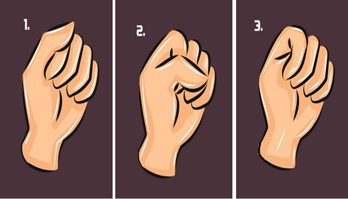 真的有準到!從「握拳頭的方式」看出你的「潛在性格」,交朋友就是要找#1 這種的!