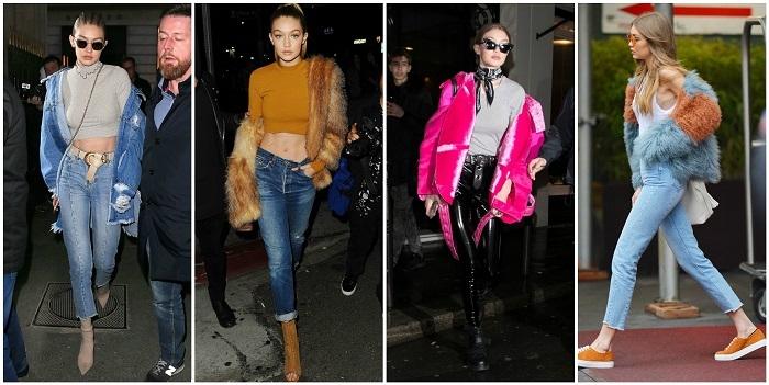 整座城市都是我的伸展台! 超模Gigi Hadid的50套時尚穿搭