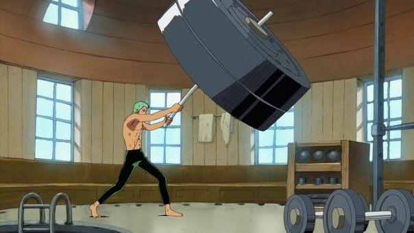 世界第一劍豪的路不好走!盤點健身狂索隆的「日常訓練方式」,最後一個普通人做絕對會死吧!!