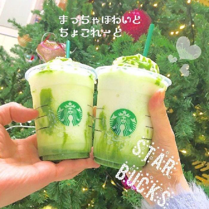 ONLY兩周限定!!日本星巴克「抹茶白巧克力星冰樂」被大讚最高