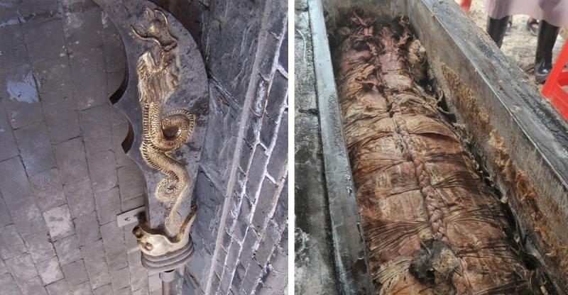 震撼!「關羽」陵墓曝光!沉睡兩千年的青龍偃月刀終於出土!意外發現墓中有兩具女屍,除了關夫人曹月娥外,另一具女屍竟然是...