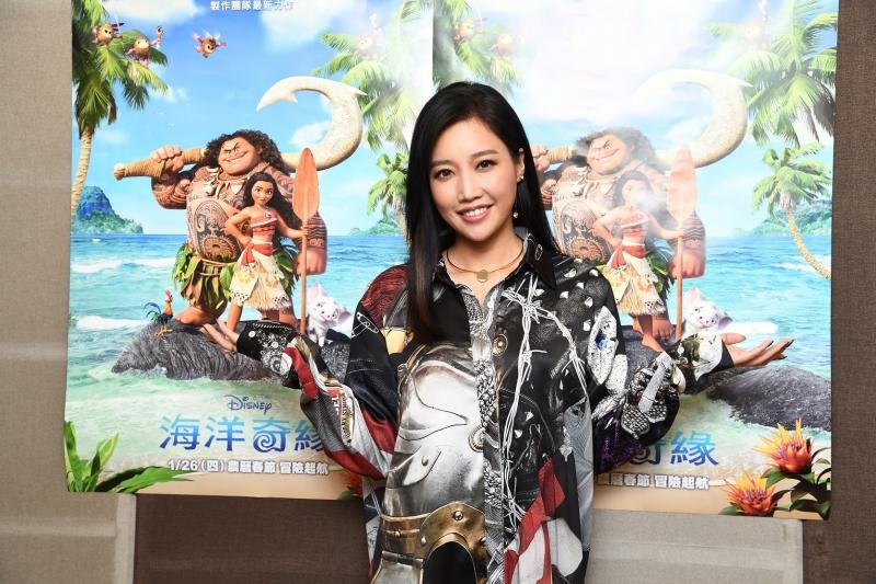 A-Lin首度與迪士尼合作獻聲《海洋奇緣》主題曲 歌詞儼然是出道10年來追尋歌唱夢想的寫照