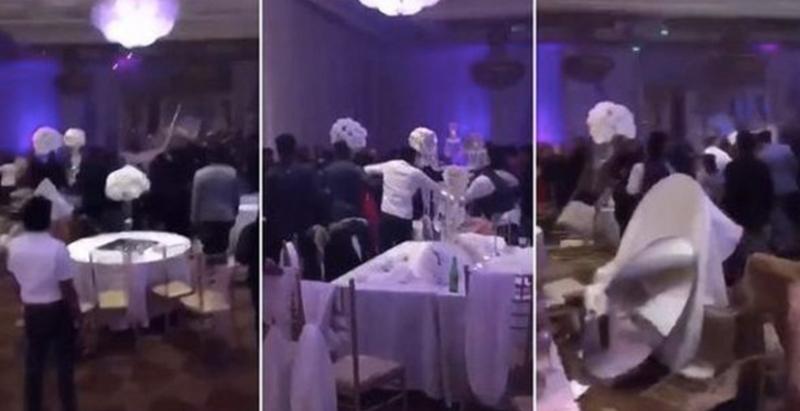 婚宴上新娘和新郎吵架,連所有賓客都打成一團!原因竟是前男友偷拍新娘「不好的照片」!?