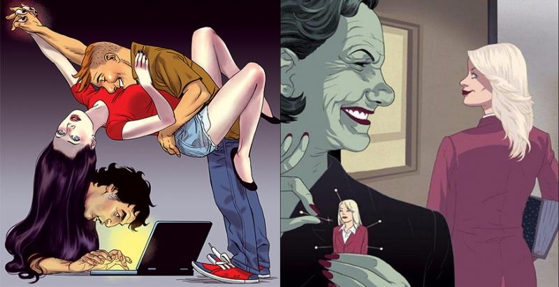 7張現實社會的「顫慄黑暗插圖」,看似最平凡的事,在背後也暗藏讓人冒汗的玄機!