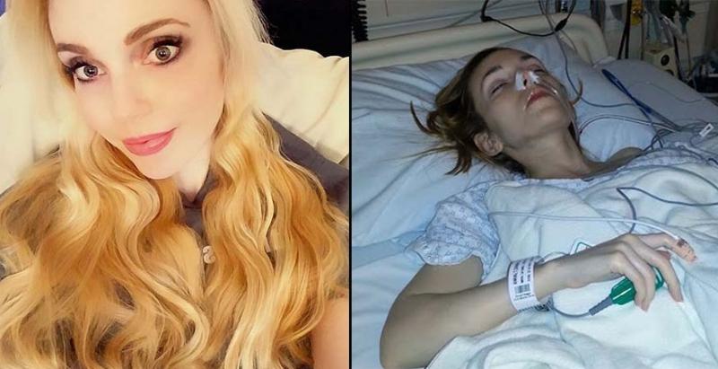 這名金髮美女染怪病「一整年都躺在病床上」,當醫生都束手無策時,打開她家地下室竟發現「噁心真相」