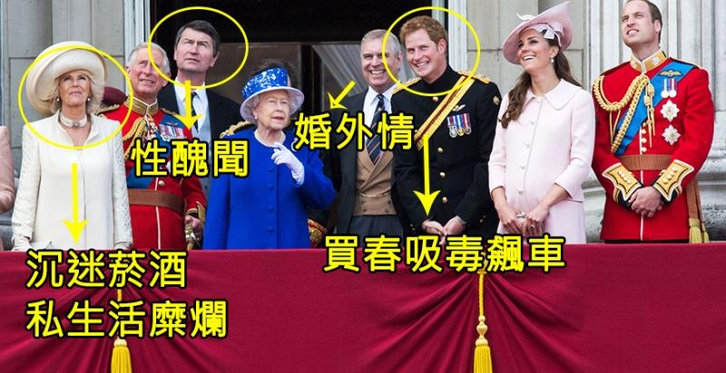 為什麼「英國王室成員」每個人都在上演「台灣本土8點檔」?原來凱特王妃是綠茶婊、哈利王子才是最後大魔王!?