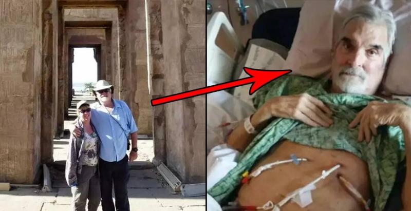 男子在「埃及金字塔」拍照後,回家卻開始「怪病纏身」甚至住進病房,最後妻子發現竟是因為他......