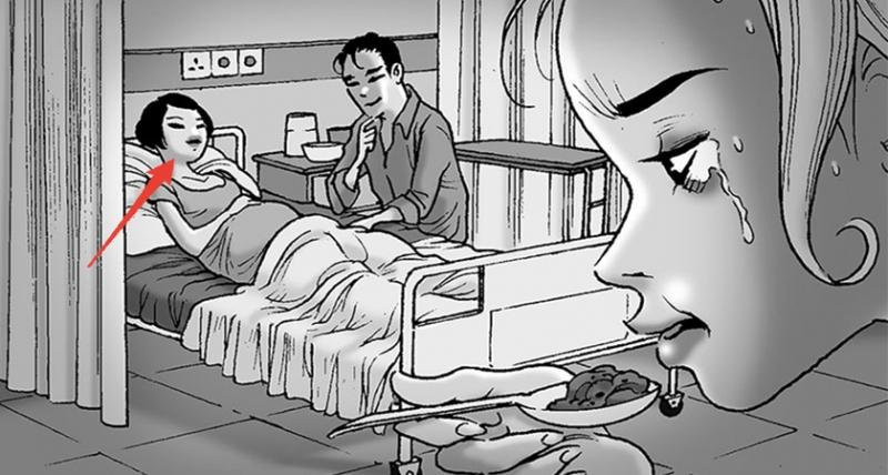 這個孕婦覺得很奇怪,隔壁床的人每天都一直偷看自己,直到肚子開始陣痛那天,她才知道為什麼‥‥