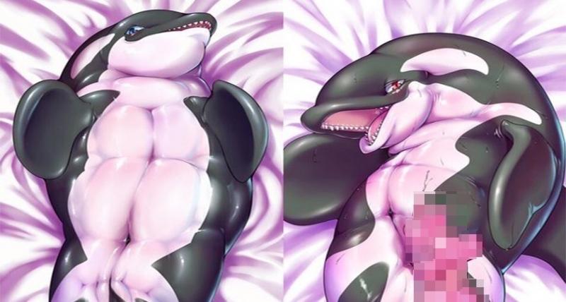 日本「獸控」繪畫師推出虎鯨1:1等身抱枕,沒想到卻意外釣出「人獸癖好」的宅粉#5進階用法驚見飛機杯?!