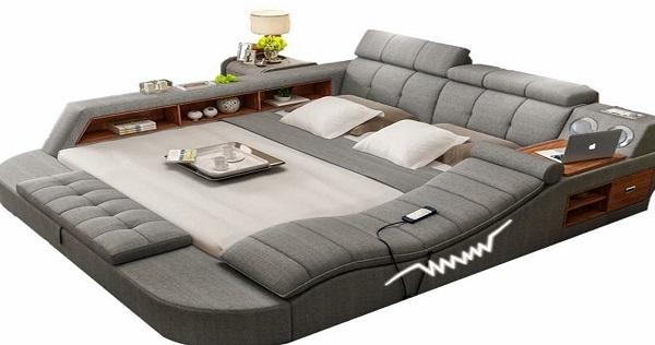 95%的人「上去之後絕對不想下來」的夢幻家具!日本推特爆紅「絕對墮落」沙發床,居然在床頭安裝了這種功能...