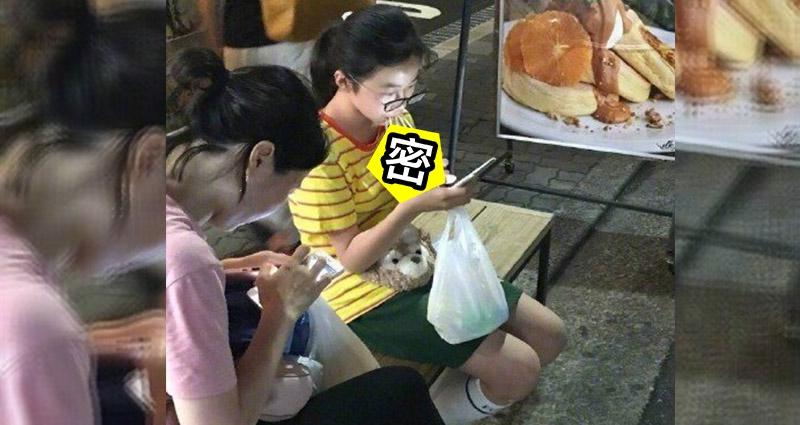 這張「在路邊喝養樂多的女生」在一晚瞬間爆紅,因為她真的太不一般...網友:人生贏家!