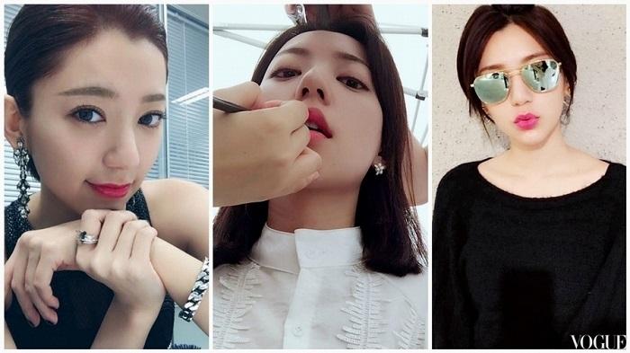想把唇彩畫得跟她一樣美,郭雪芙御用化妝師傳授、多加這四個步驟試試!
