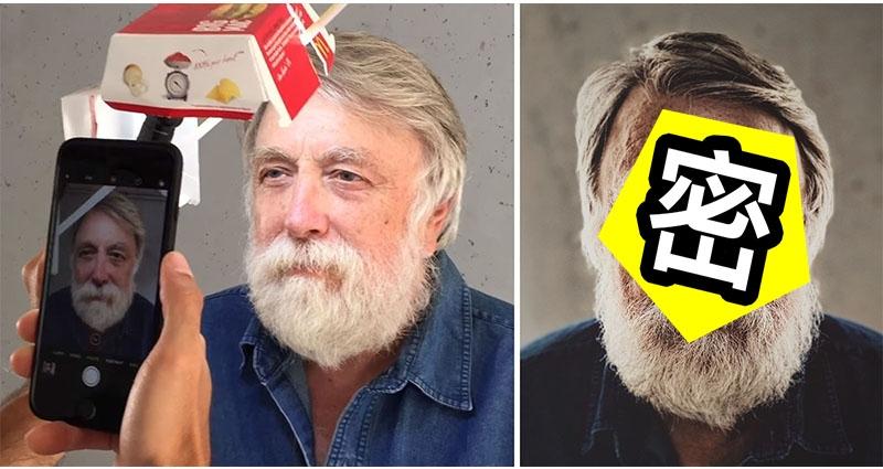這名男子用「麥當勞漢堡紙盒」做「自拍神器」,原本被大家嘲笑,結果拍出來的效果「根本比gopro還扯」