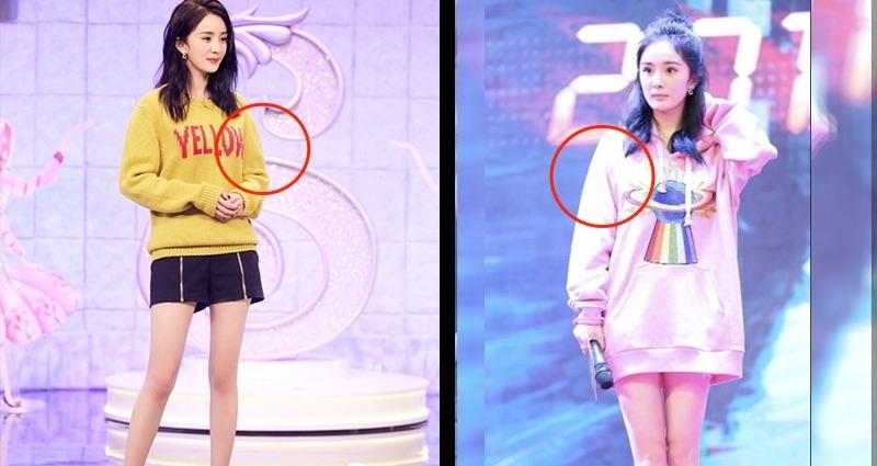 為什麼「楊冪」這麼瘦卻老是穿著「長袖」跑節目?她不是為了防曬,看完想落淚...