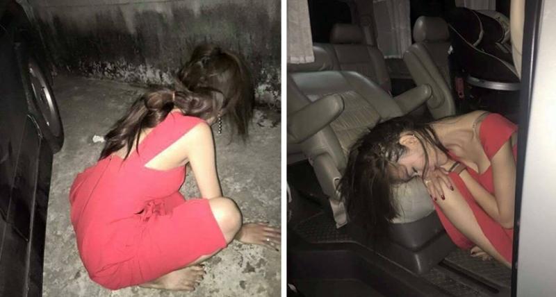 紅衣正妹喝醉酒後被人「撿屍」帶回家拍下「一系列不雅照」...驚人的「現場直擊」!