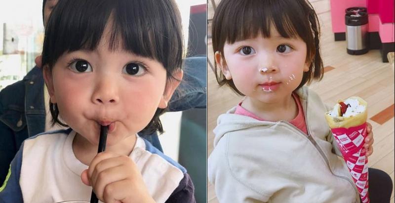這名日本小小蘿莉「超萌超高人氣」讓網友「願意等20年」,沒想到看到媽媽...才「開始讓大家後悔」