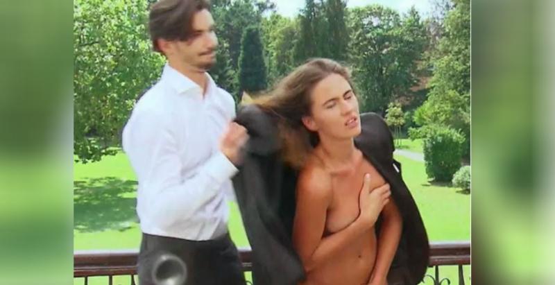 超模選秀節目竟變成「謎片實境秀?」女模必須當場被「扒光全裸」任由男模特兒摸遍全身......