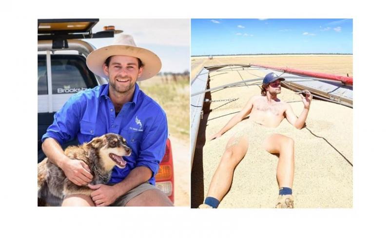 澳洲農民小哥一時興起拍了個裸照,沒想到掀起了一場空前絕後的農場裸照風潮