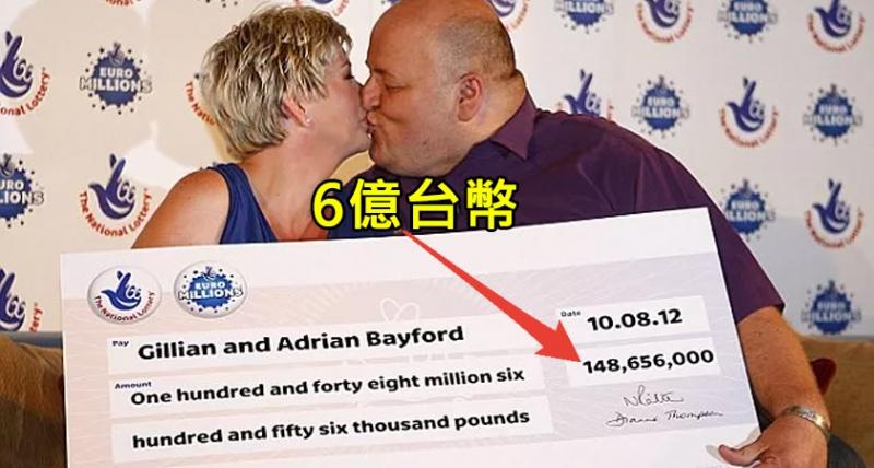 這對平凡夫妻一夕之間「中了6億樂透」,瞬間還清債務、爽買飛機別墅,但最後卻過得「生不如死」‥‥