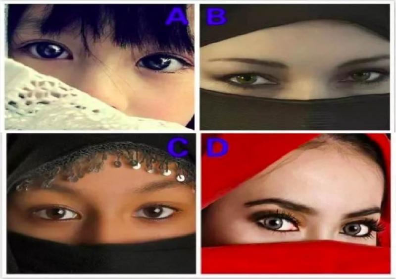 選一雙眼睛,測你在感情中最放不下什麼?