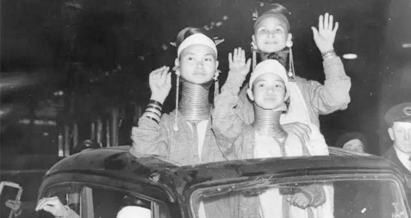 這些長頸族少女曾被請到英國做「文化交流」 受到熱情款待、全國巡迴,最後下場卻「悽慘無比」