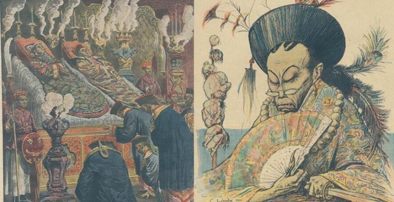 外國人眼中「大清帝國皇族」的真實場景,就連他們都知道大清被老妖婦慈禧搞得要滅亡了