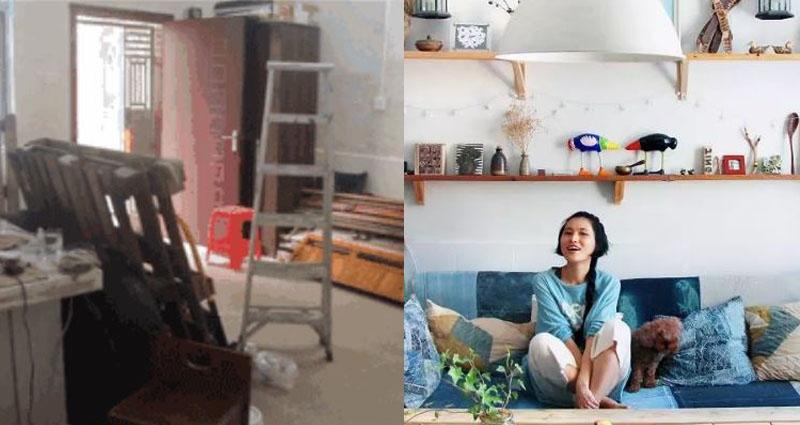 30歲不工作、沒男友 她只花16000爆改的小別墅卻讓人瘋狂吶喊:想娶回家!