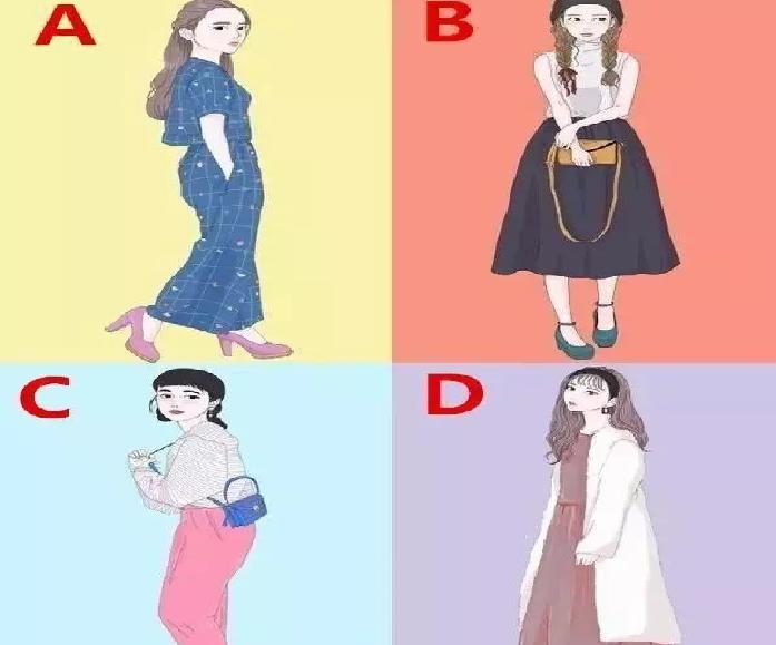 四個女生選一個,測你這輩子會遇到幾種類型的愛情!!