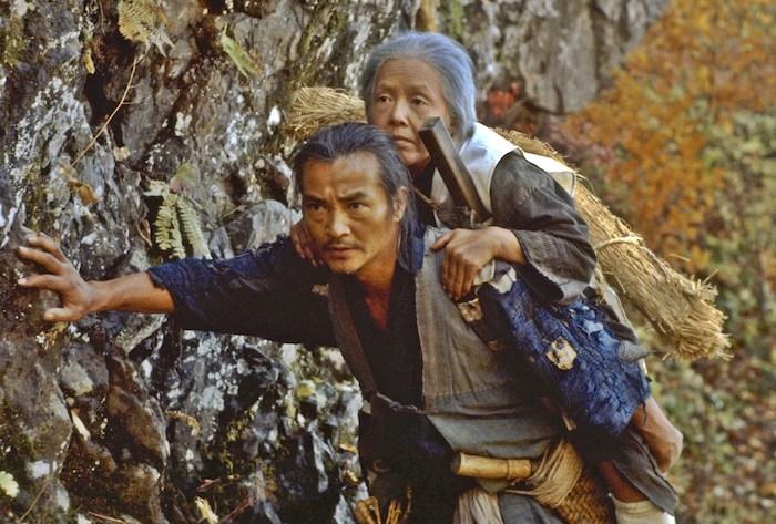 圖說:楢山節考4K修復版(双喜電影)左前起緒形拳-坂本壽美子