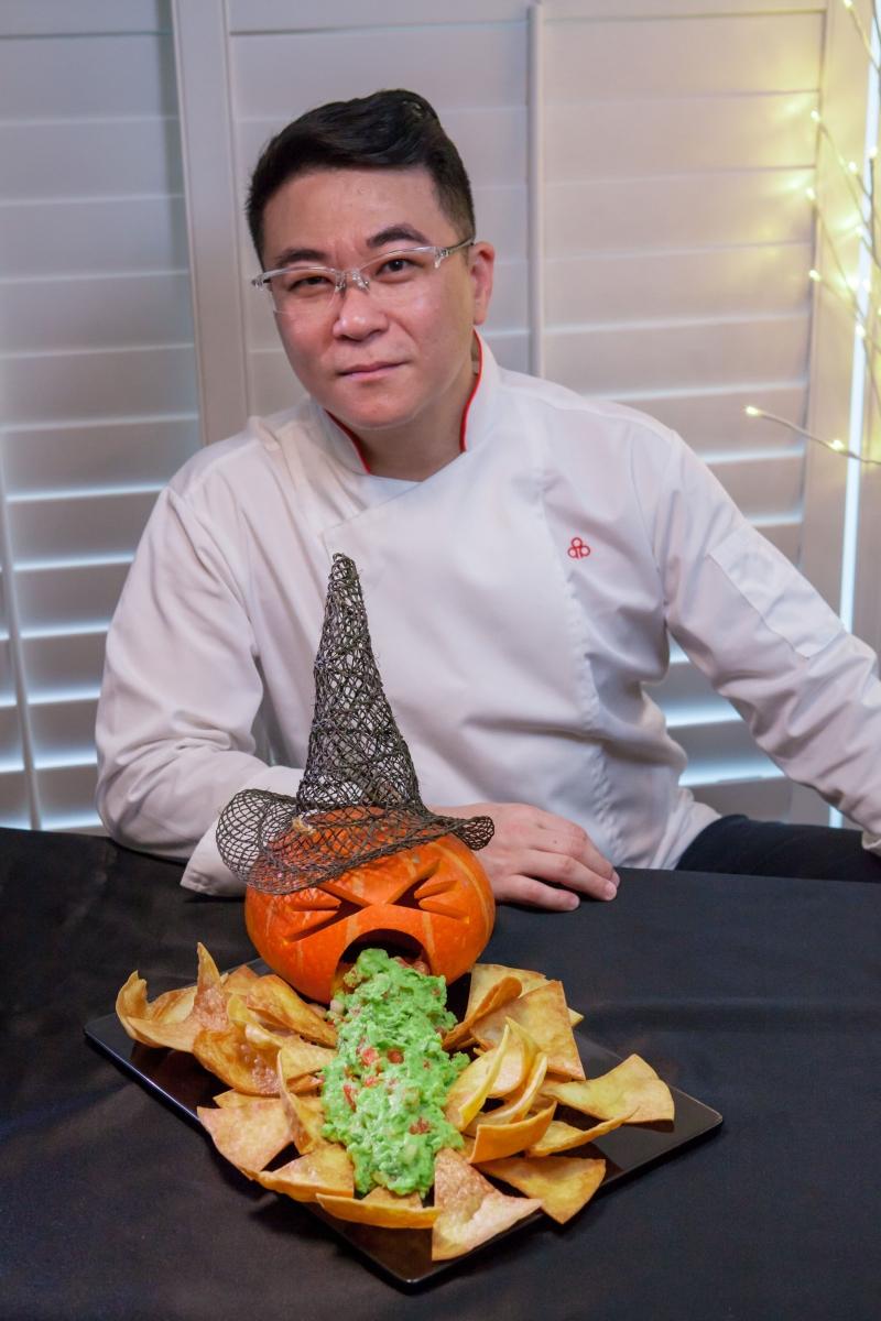 萬聖節創意料理搞怪新食尚 『開元餅皮x超級食物』