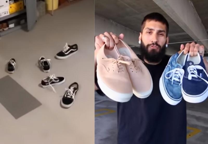 這什麼巫術!國外Vans鞋挑戰為何怎麼丟都「正面朝上」