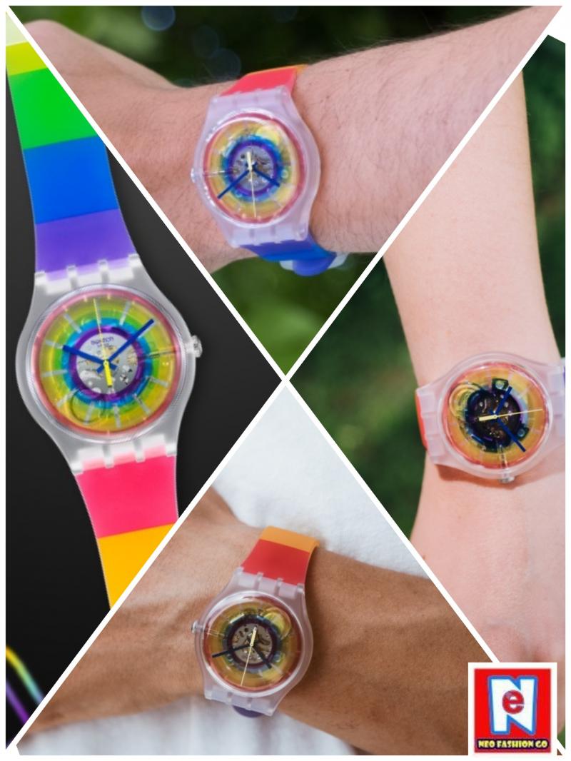 SWATCH揮動腕間彩虹 讓每個人展現獨一無二的耀眼光芒