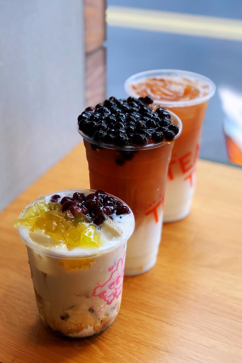 「TeaTop台灣第一味」必喝爆紅的紅豆鮮奶粉粿,戀職人鮮奶加好加滿CP值爆表