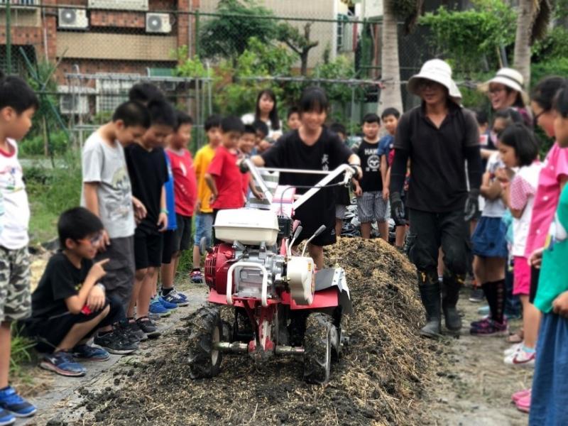 愛心守護孩童健康!「食」在棗稻田 助力中小學有機營養午餐