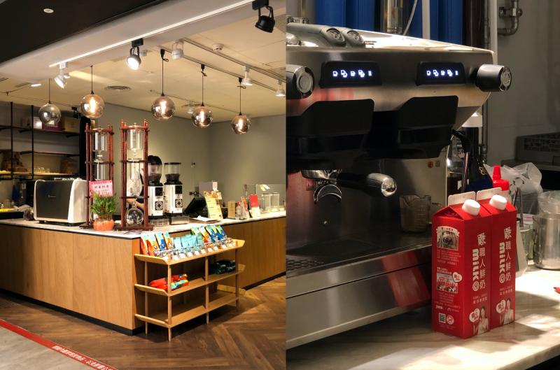 咖啡老饕最愛的私藏名店『馬克老爹』,搭配戀職牛奶球泡出最好咖啡