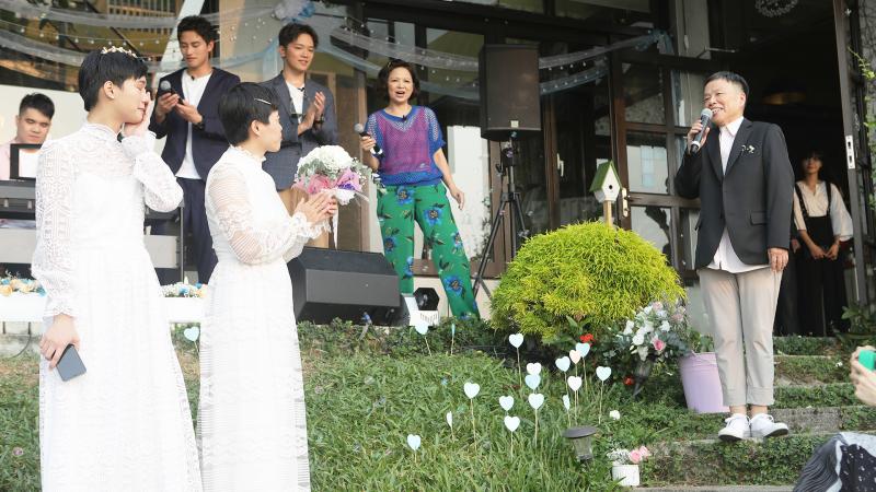 影/民宿同志婚禮超感人!張軒睿 許光漢 章廣辰坦承:「已經偷偷哭成一片了」
