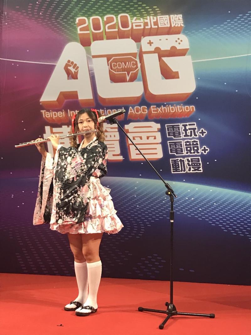 17電競女神大秀才藝 Cosplay主播唱跳動漫神曲粉絲搶拍