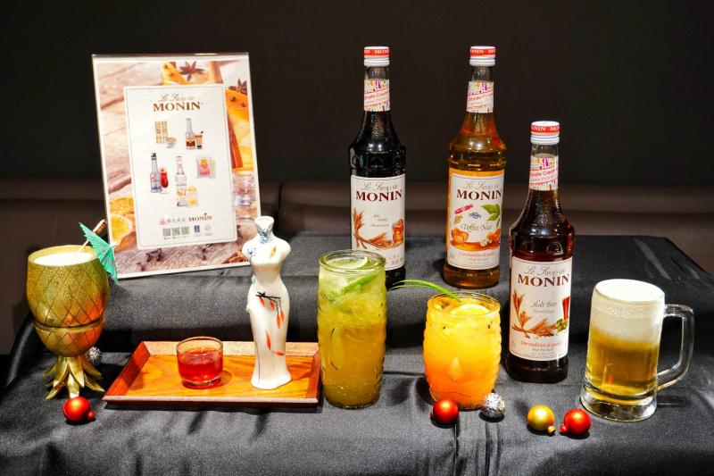 【微醺浪潮】開元食品法國MONIN酒風味 新品發表會