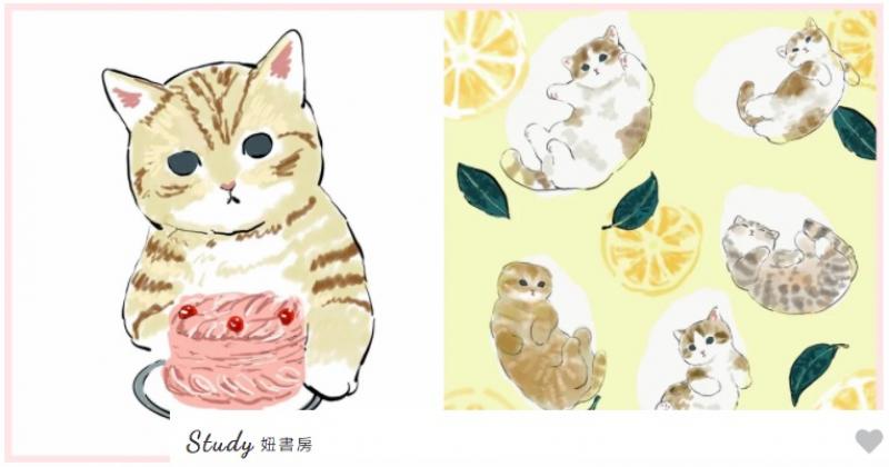 好想抱紧处理!日本IG插画家电绘的猫猫日常要夺可爱~