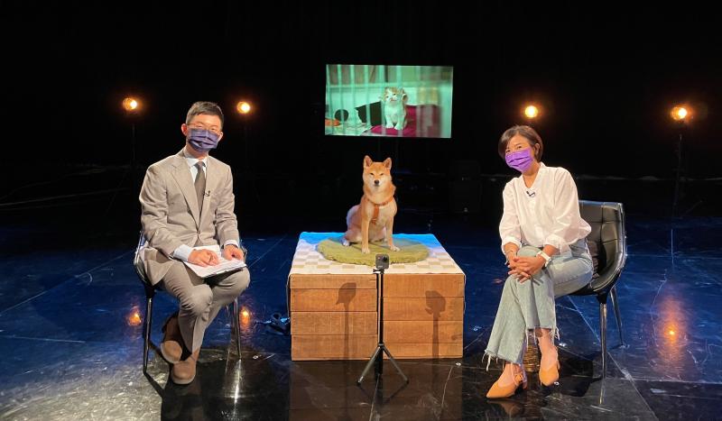 视网膜携爱犬上节目谈「零浪浪」目标 现场公民提建议