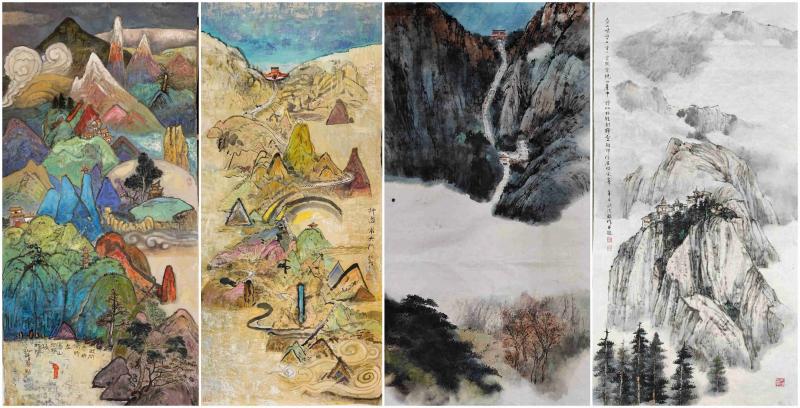 两岸艺术家共绘泰山作品展 10月2日在台开展
