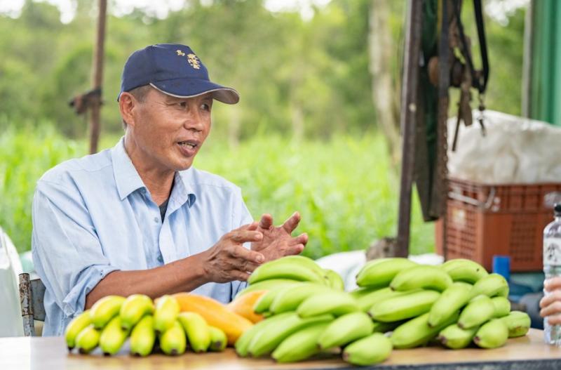 家樂福的「蕉」傲 四大金蕉「全驗證」 挺友善農作一同守護石虎 良性循環吃得更安心