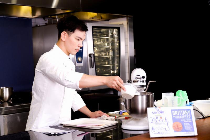 開元食品線上解析外送時代法式甜點趨勢! 肯迪雅台灣品牌大使王家承直播分享